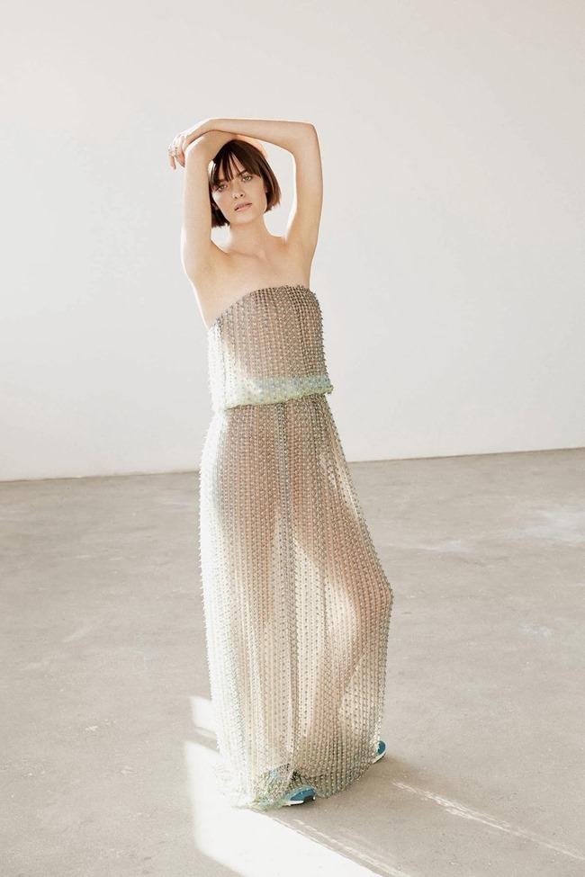 WSJ MAGAZINE Sam Rollinson in Kick It In Couture by Maciek Kobielski. Anastasia Barbieri, August 2014, www.imageamplified.com, Image Amplified (6)