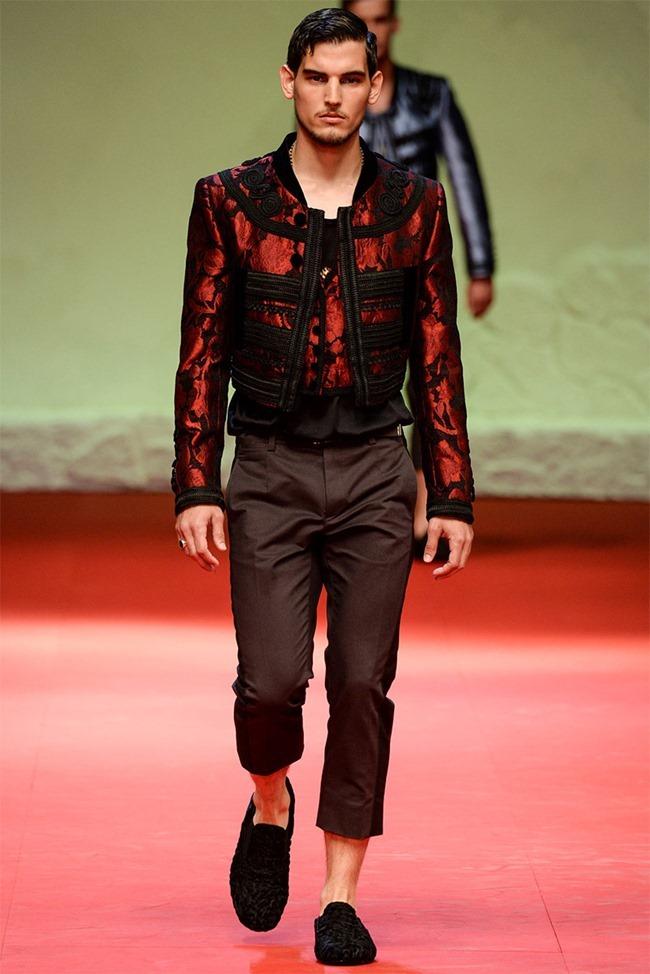 MILAN FASHION WEEK Dolce & Gabban Spring 2015. www.imageamplified.com, Image Amplified (2)