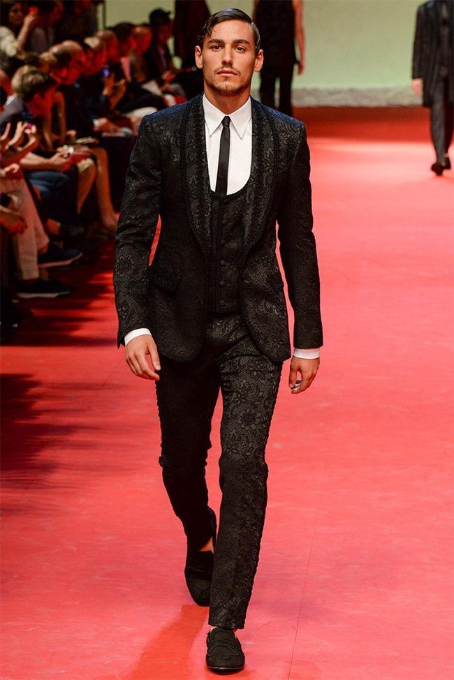 MILAN FASHION WEEK Dolce & Gabban Spring 2015. www.imageamplified.com, Image Amplified (16)