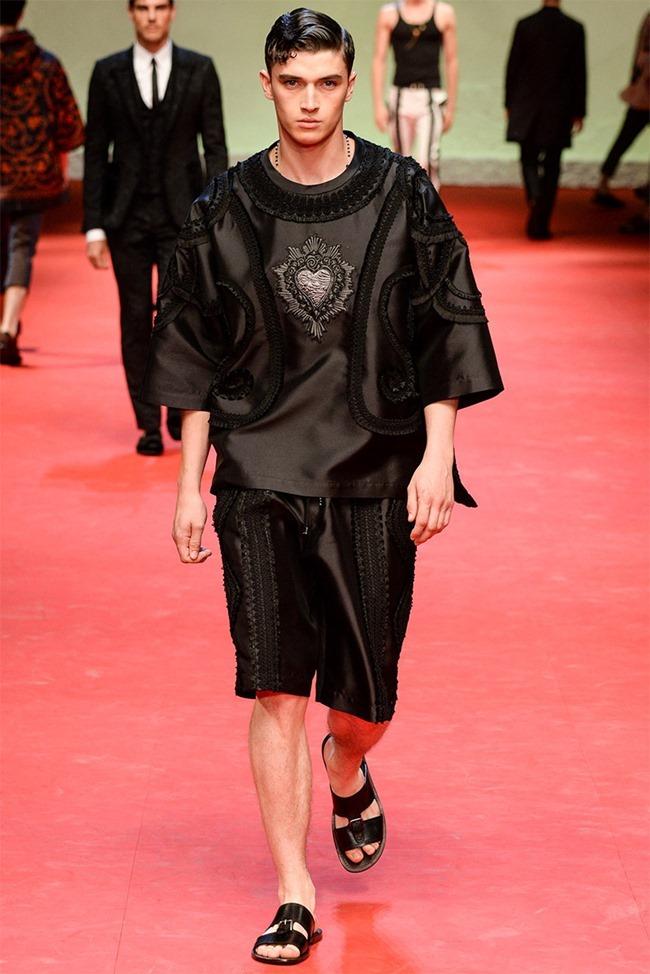 MILAN FASHION WEEK Dolce & Gabban Spring 2015. www.imageamplified.com, Image Amplified (20)