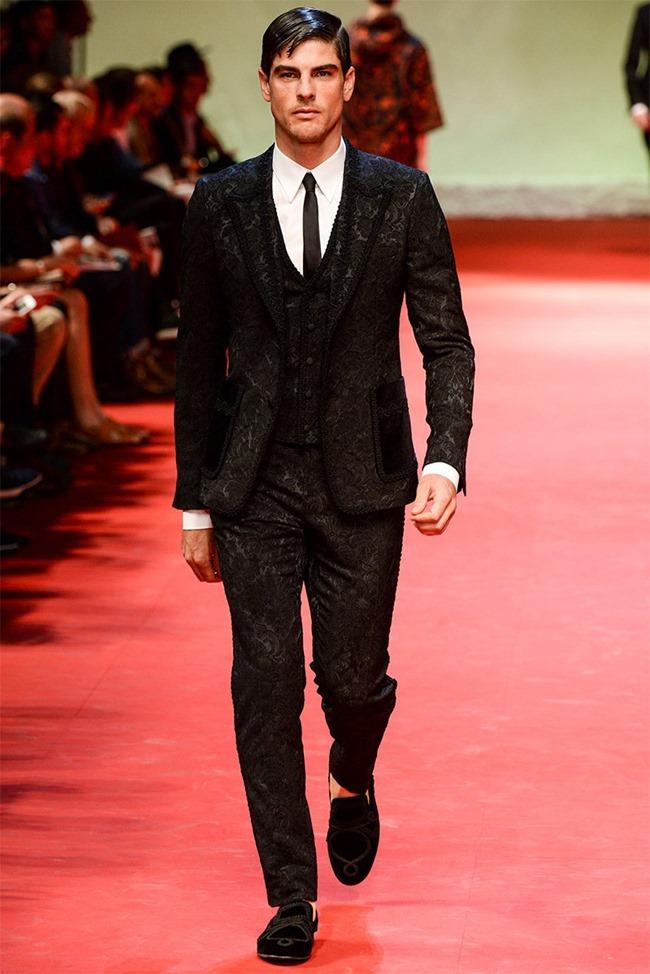 MILAN FASHION WEEK Dolce & Gabban Spring 2015. www.imageamplified.com, Image Amplified (21)