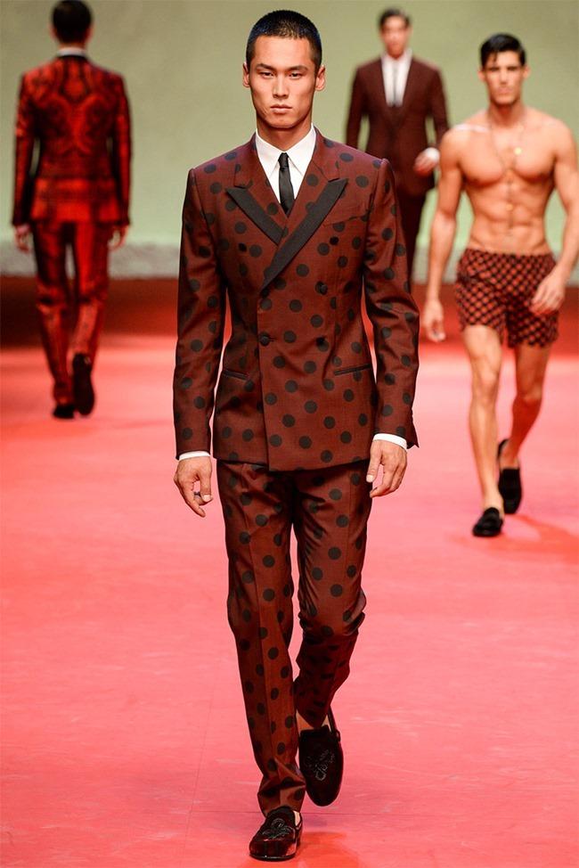 MILAN FASHION WEEK Dolce & Gabban Spring 2015. www.imageamplified.com, Image Amplified (42)