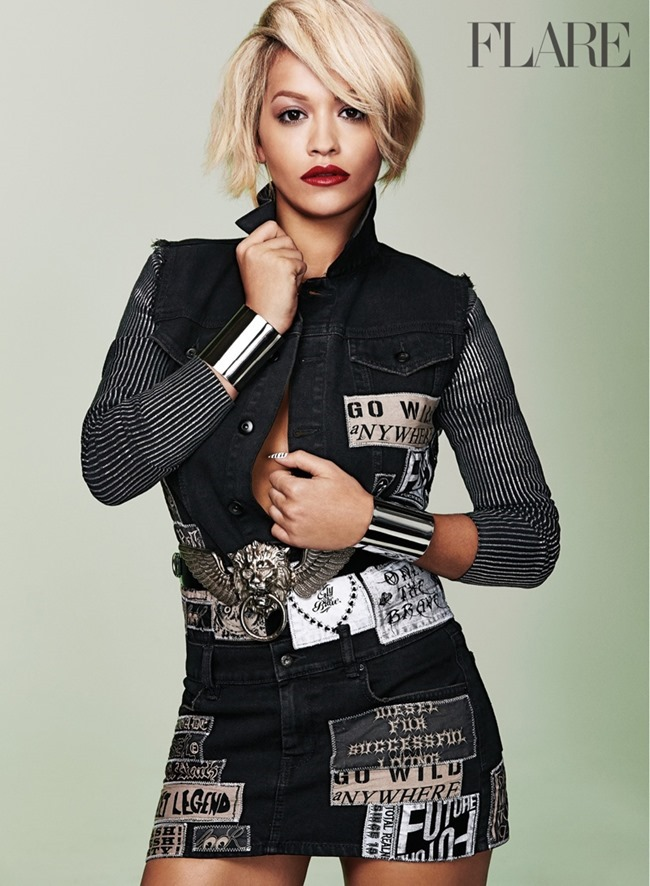 FASHION PHOTOGRAPHY Rita Ora for Flare Magazine, August 2014, www.imageamplified.com, Image Amplified (1)