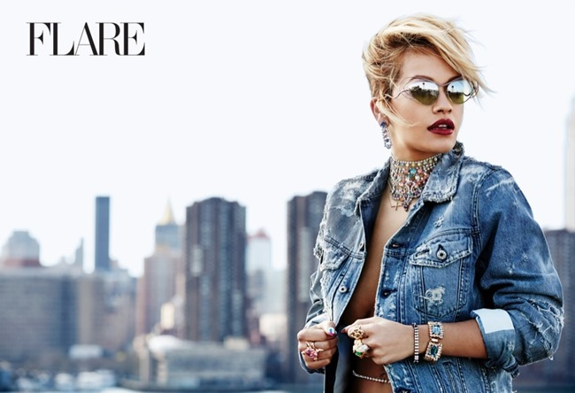 FASHION PHOTOGRAPHY Rita Ora for Flare Magazine, August 2014, www.imageamplified.com, Image Amplified (2)