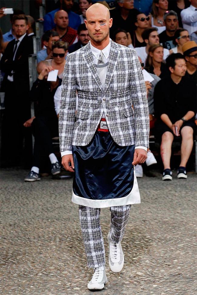 MILAN FASHION WEEK Moncler Gamme Bleu Spring 2015. www.imageamplified.com, Image Amplified (17)