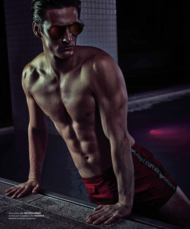 ESSENTIAL HOMME Leo Eller in Night Swim by A.P. Kim. Terry Lu, Summer 2014, www.imageamplified.com, Image Amplified (3)