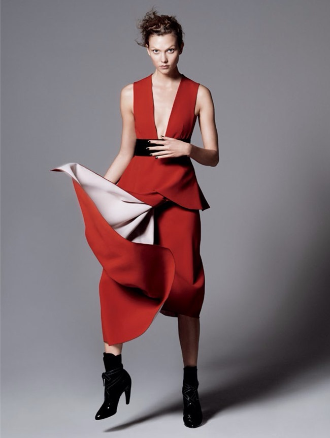 VOGUE MAGAZINE Karlie Kloss in Razor's Edge by David Sims. Tonne Goodman, July 2014, www.imageamplified.com, Image Amplified (6)