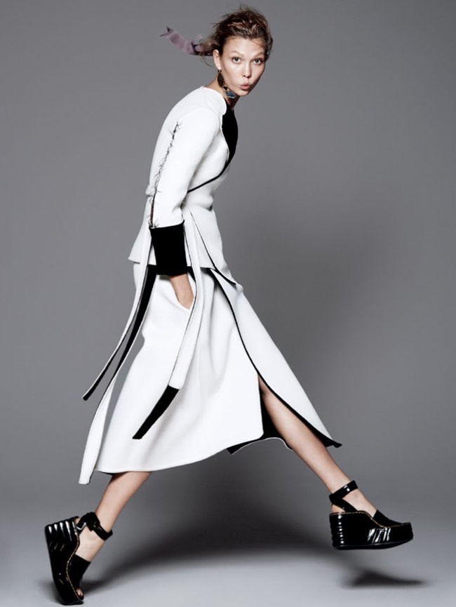 VOGUE MAGAZINE Karlie Kloss in Razor's Edge by David Sims. Tonne Goodman, July 2014, www.imageamplified.com, Image Amplified (2)