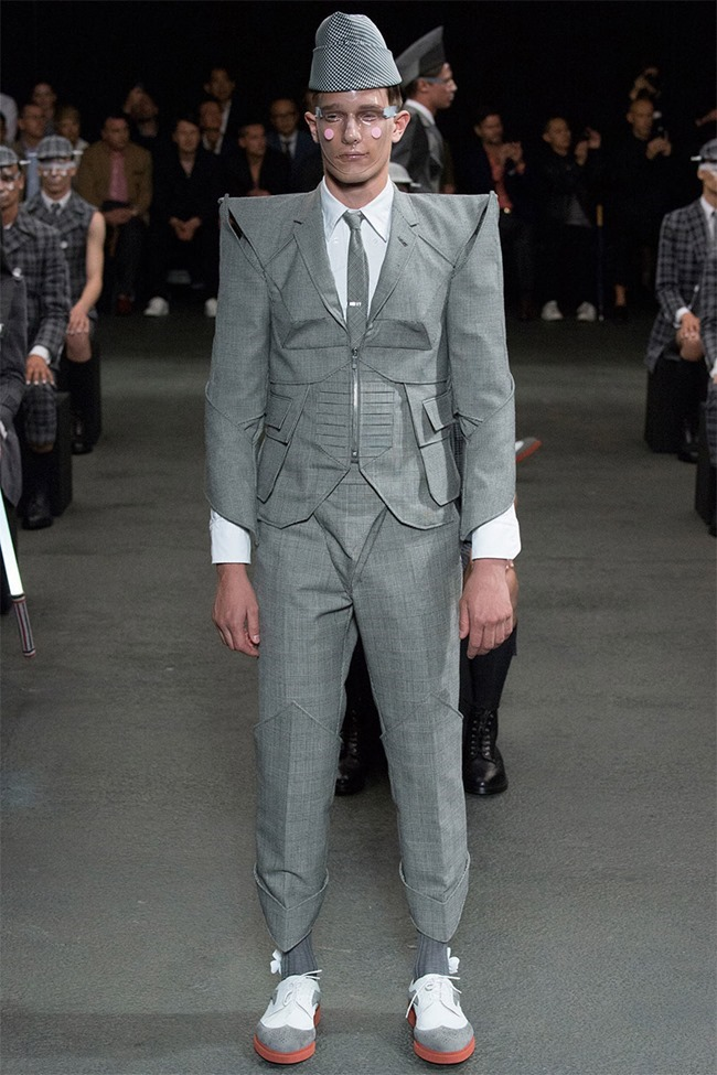 PARIS FASHION WEEK Thom Browne Spring 2015. www.imageamplified.com, Image Amplified (2)