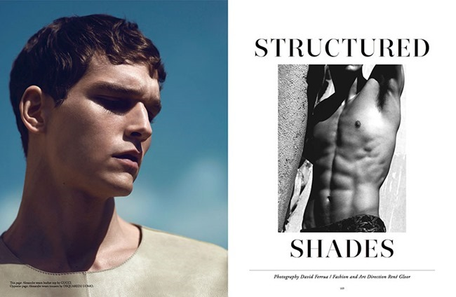 NARCISSE MAGAZINE Alexander Cunha in Structured Shades by David Ferrua. Summer 2014, www.imageamplified.com, Image Amplified (2)