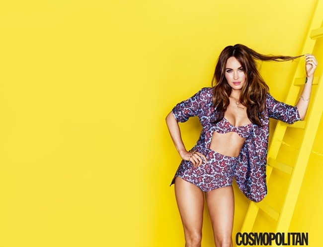 COSMOPOLITAN MAGAZINE Megan Fox by Eric Ray Davidson. August 2014, www.imageamplified.com, Image Amplified (2)