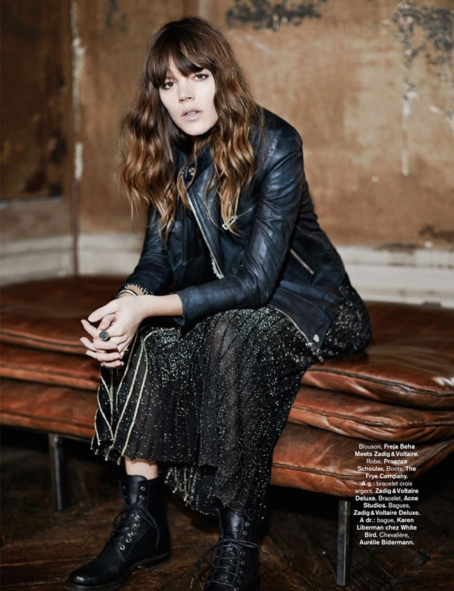 GLAMOUR FRANCE Freja Beha Erichsen in Rock & Folk by Fred Meylan. Marine Braunschvig. August 2014, www.imageamplified.com, Image Amplified (7)