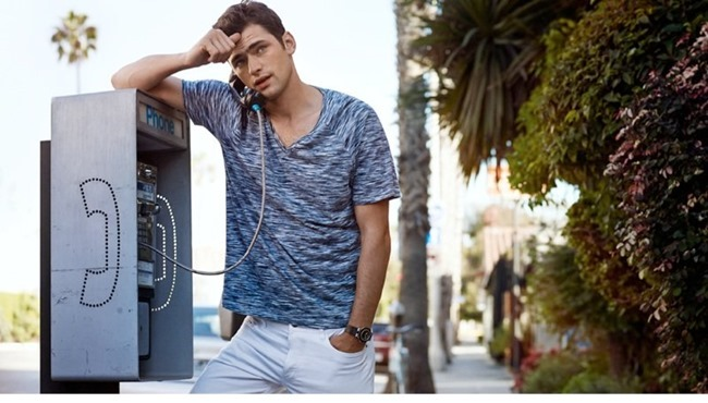 CAMPAIGN Sean O'Pry in Casual Sunday for H&M Spring 2014. www.imageamplified.com, Image Amplified (4)