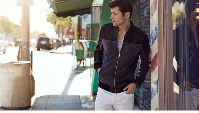 CAMPAIGN Sean O'Pry in Casual Sunday for H&M Spring 2014. www.imageamplified.com, Image Amplified (7)