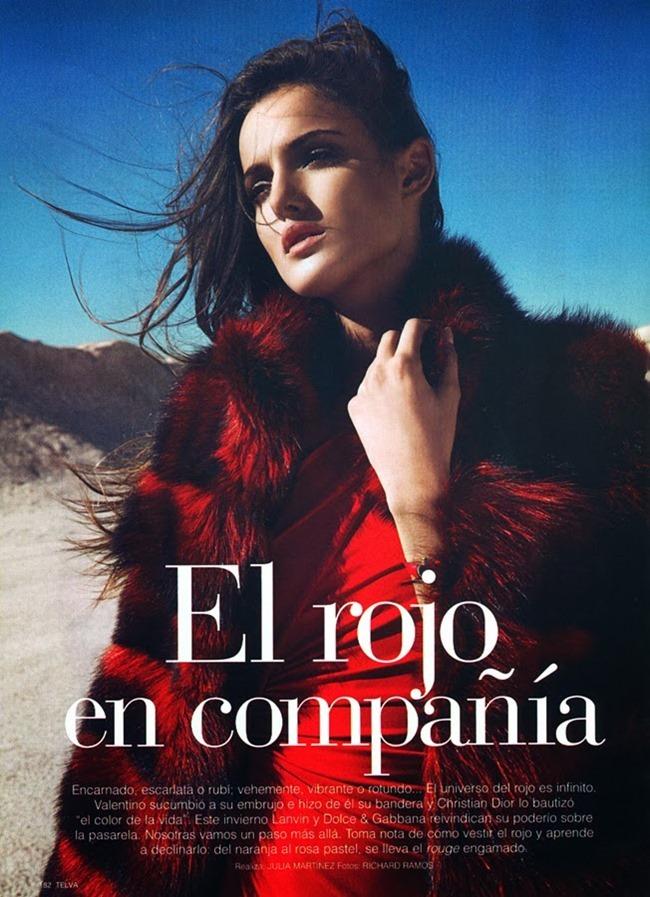 TELVA MAGAZINE Blanca in El Rojo en Compania by Richard Ramos. January 2014, www.imageamplified.com, Image amplified (4)
