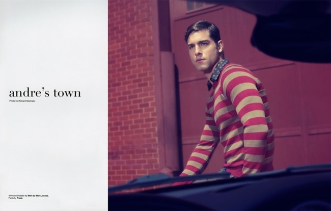 POSH MAGAZINE Andre Ziehe in Andre's Town by Richard Machado. Eric Launder, Fall 2013, www.imageamplified.com, Image amplified (1)