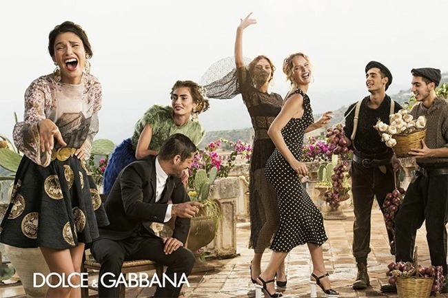 CAMPAIGN- Dolce & Gabbana Spring 2014 by Domenico Dolce. www.imageamplified.com, Image amplified (2)