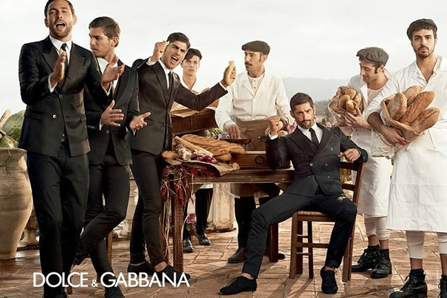CAMPAIGN- Dolce & Gabbana Spring 2014 by Domenico Dolce. www.imageamplified.com, Image amplified
