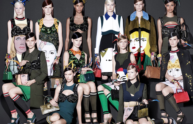 CAMPAIGN- Prada Spring 2014 by Steven Meisel. Olivier Rizzo, www.imageamplified.com, Image Amplified (4)