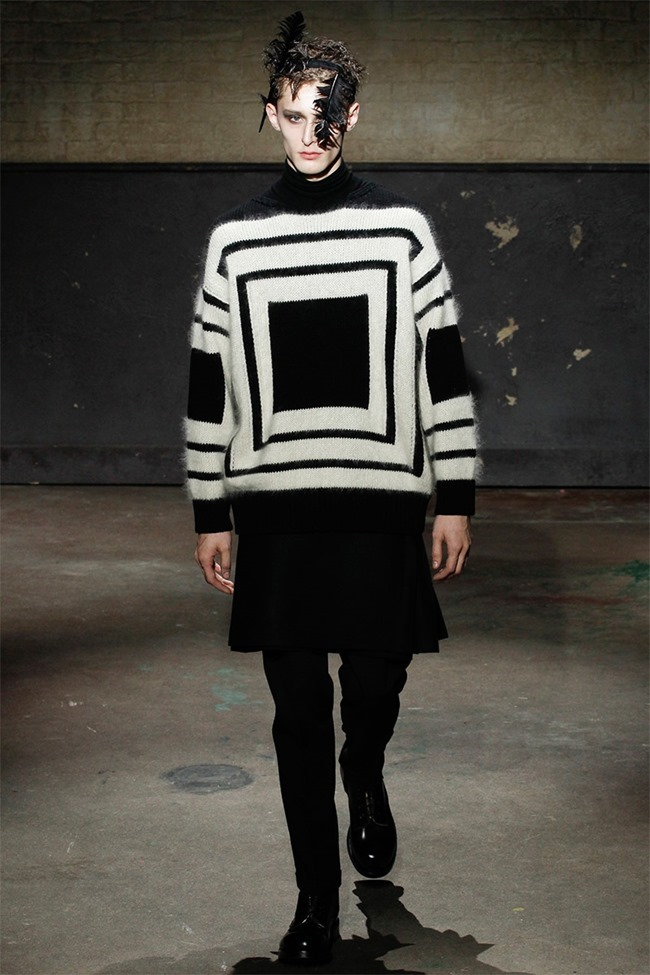 LONDON COLLECTIONS MEN- Alexander McQueen Fall 2014. www.imageamplified.com, Image Amplified (10)