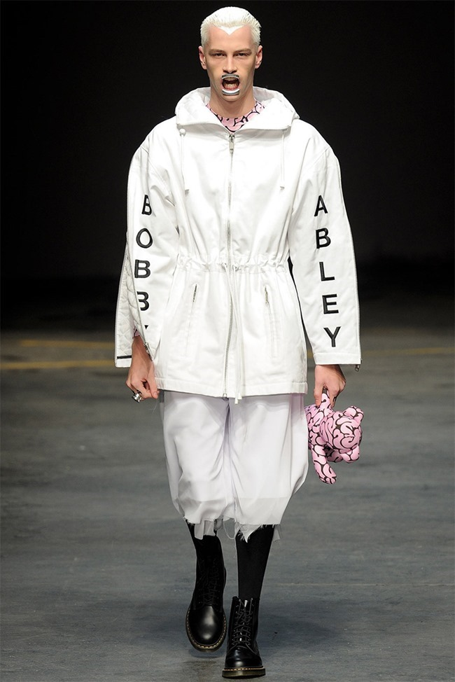 LONDON COLLECTIONS MEN- Bobby Abley Fall 2014. www.imageamplified.com, Image Amplified