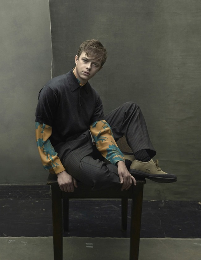 CAMPAIGN Dane DeHaan for Prada Menswear Spring 2014 by Annie Leibovitz. Olivier Rizzo, www.imageamplified.com, Image Amplified (4)