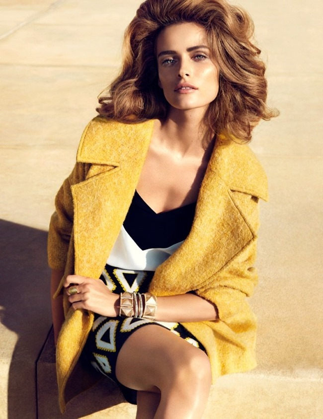 CAMPAIGN Edita Vilkeviciute in Key Pieces for H&M Spring 2014. www.imageamplified.com, Image Amplified (6)