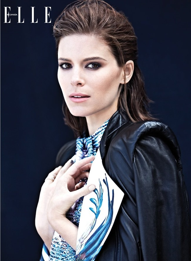 ELLE CANADA Kate Mara by Max Abadian. Elizabeth Cabral, February 2014, www.imageamplified.com, Image Amplified (2)