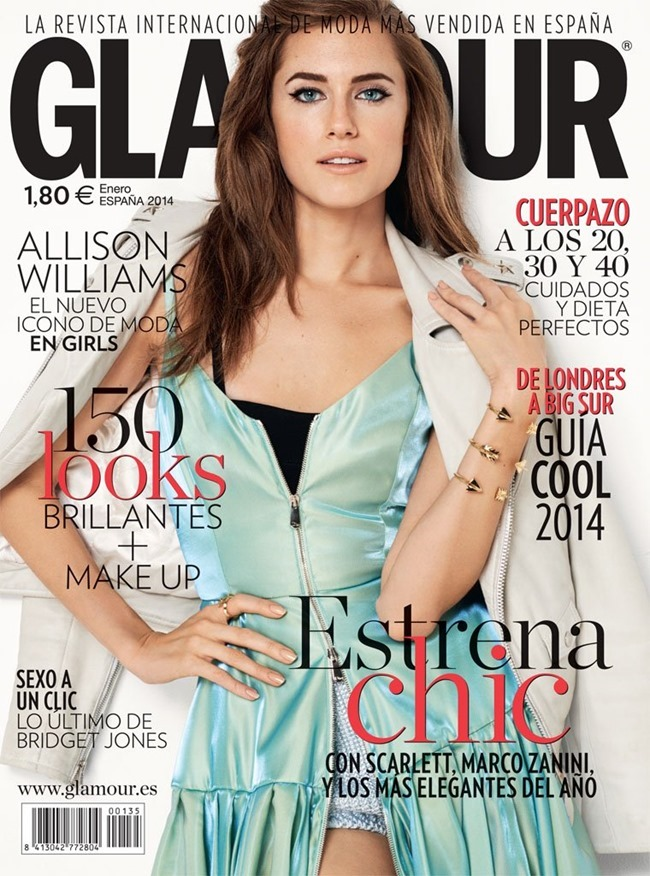 GLAMOUR SPAIN Allison Williams by Blossom Berkofsky. Maria Parra, February 2014, www.imageamplified.com, Image amplified (2)
