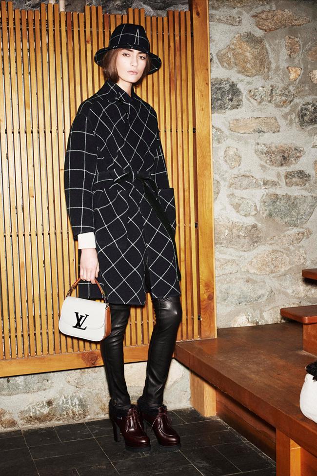 COLLECTION Saskia De Brauw, Kati Nescher & Marine Deleuw for Loui Vuitton Pre-Fall 2014. www.imageamplified.com, Image Amplified (37)