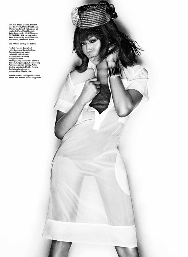 HARPER'S BAZAAR SINGAPORE Naomi Campbell by Gan. Kenneth Goh, January 2014, www.imageamplified.com, Image amplified (6)