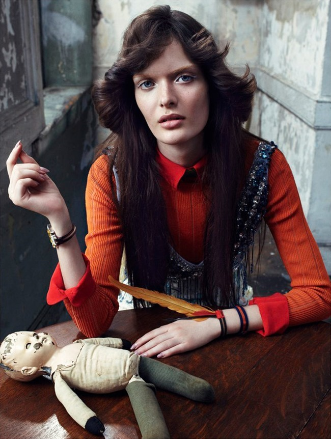 VOGUE ITALIA Sam Rollinson by Emma Summerton. Elin Svahn, January 2014, www.imageamplified.com, Image Amplified (1)