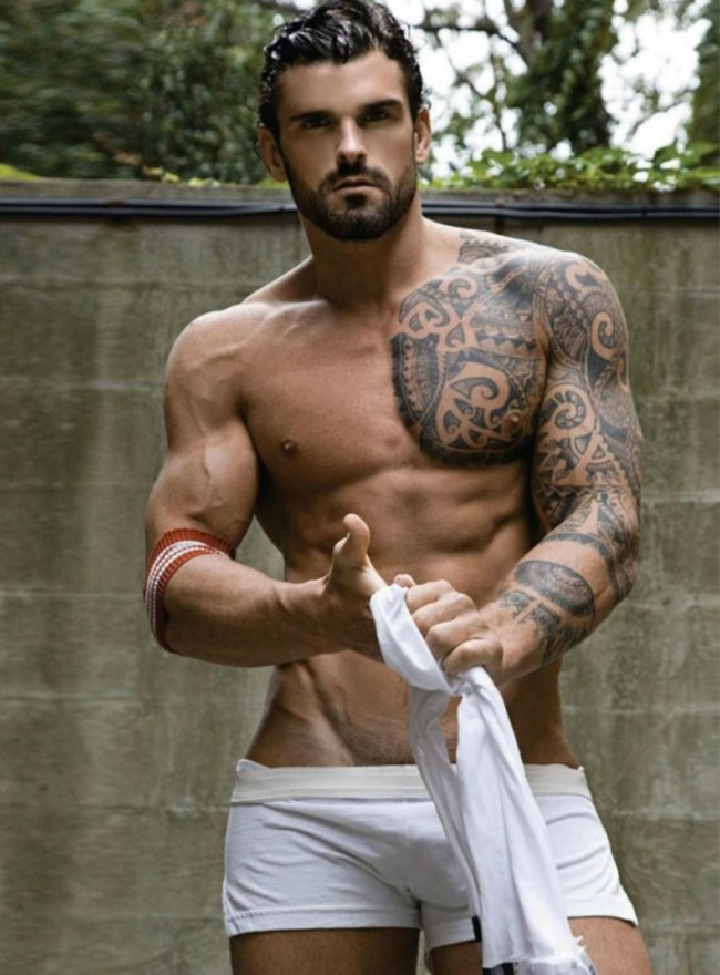 GAY TIMES MAGAZINE Stuart Reardon in Play Hard by Rick Day. Fall 2013, www.imageamplified.com, Image Amplified (1)