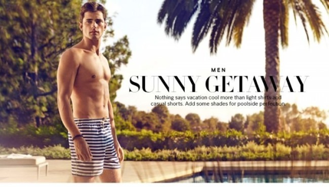 H&M MAGAZINE Sean O'Pry in Sunny Getaway for H&M Spring 2014. www.imageamplified.com, Image Amplified (1)