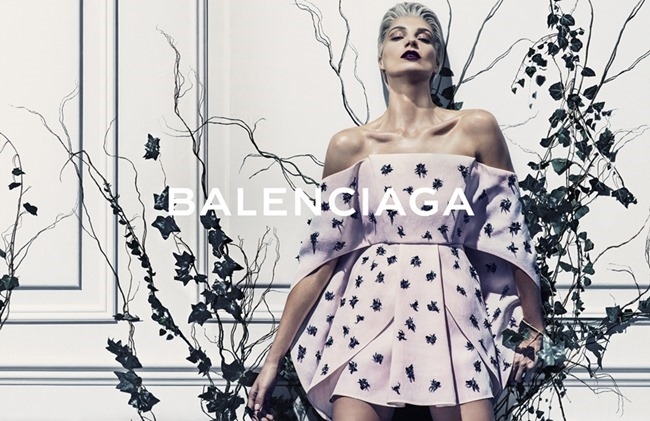 CAMPAIGN Daria Werbowy for Balenciaga Spring 2014 by Steven Klein. www.imageamplified.com, Image amplified (2)