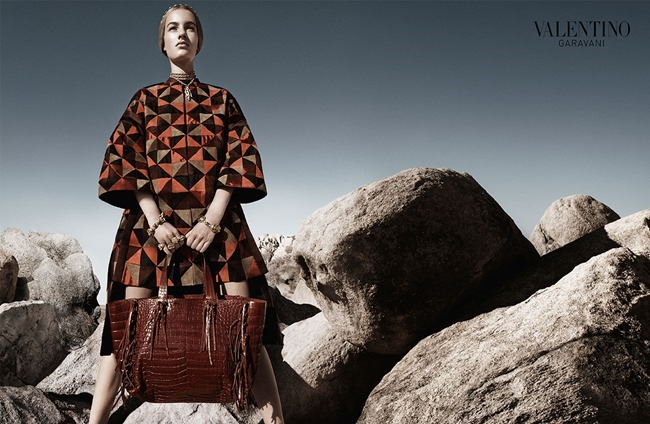 CAMPAIGN Malaika Firth, Auguste Abeliunaite, Ine Neefs, Esther Heesch & Maartje Verhoef for Valentino Spring 2014 by Craig McDean. Karl Templer, www.imageamplified.com, Image Amplified (16)