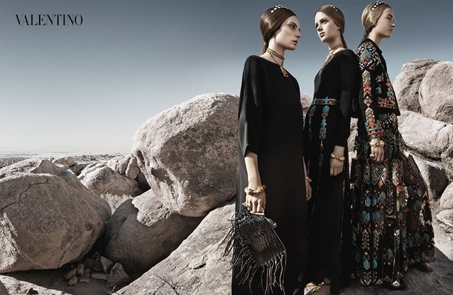 CAMPAIGN Malaika Firth, Auguste Abeliunaite, Ine Neefs, Esther Heesch & Maartje Verhoef for Valentino Spring 2014 by Craig McDean. Karl Templer, www.imageamplified.com, Image Amplified (6)