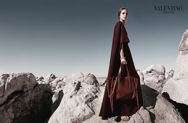 CAMPAIGN Malaika Firth, Auguste Abeliunaite, Ine Neefs, Esther Heesch & Maartje Verhoef for Valentino Spring 2014 by Craig McDean. Karl Templer, www.imageamplified.com, Image Amplified (11)