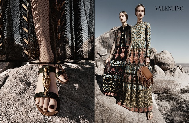 CAMPAIGN Malaika Firth, Auguste Abeliunaite, Ine Neefs, Esther Heesch & Maartje Verhoef for Valentino Spring 2014 by Craig McDean. Karl Templer, www.imageamplified.com, Image Amplified (15)
