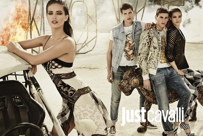 CAMPAIGN Adrian Cardoso, Mariano Ontanon, Emily DiDonato & Samantha Gradoville for Just Cavalli Spring 2014 by Giampaolo Sgura. Veronique Didry, www.imageamplified.com, Image Amplified (2)