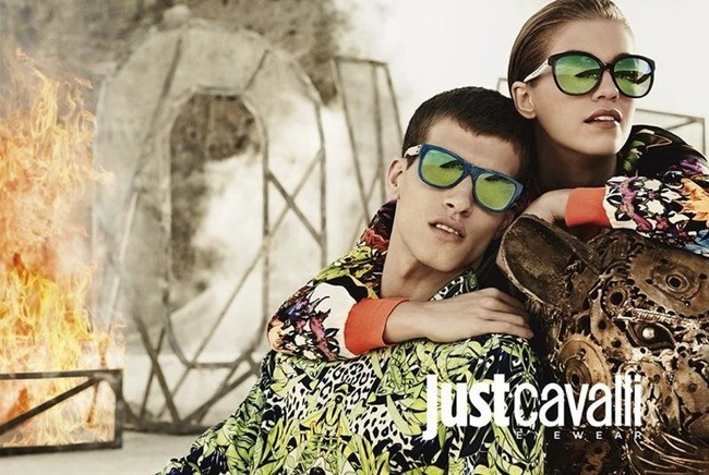 CAMPAIGN Adrian Cardoso, Mariano Ontanon, Emily DiDonato & Samantha Gradoville for Just Cavalli Spring 2014 by Giampaolo Sgura. Veronique Didry, www.imageamplified.com, Image Amplified (5)