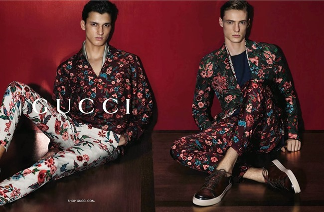 CAMPAIGN Amanda Murphy, Elizabeth Erm, Luca Stacheit & Tommaso de Benedictis for Gucci Spring 2014 by Mert & Marcus. www.imageamplified.com, Image amplified (4)