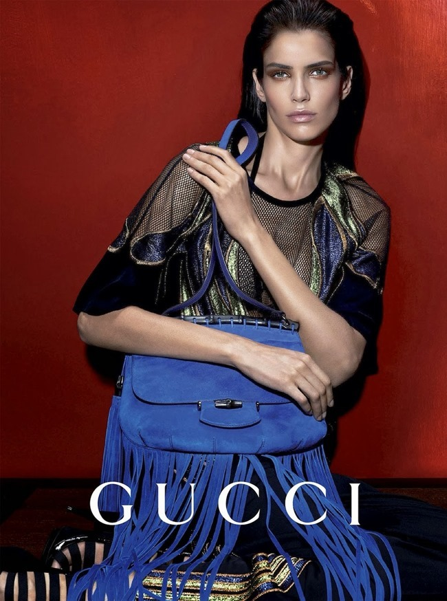 CAMPAIGN Amanda Murphy, Elizabeth Erm, Luca Stacheit & Tommaso de Benedictis for Gucci Spring 2014 by Mert & Marcus. www.imageamplified.com, Image amplified (2)