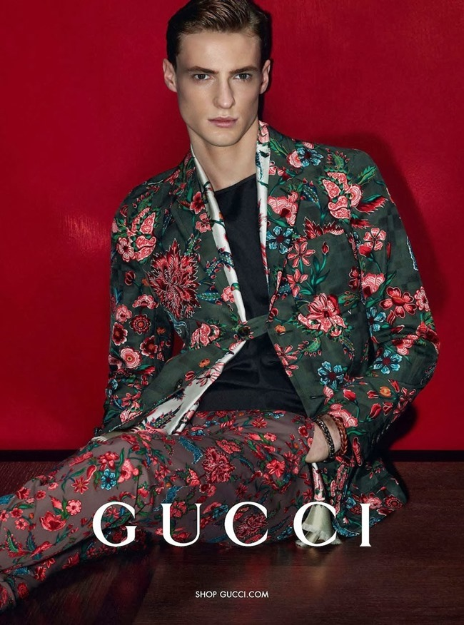 CAMPAIGN Amanda Murphy, Elizabeth Erm, Luca Stacheit & Tommaso de Benedictis for Gucci Spring 2014 by Mert & Marcus. www.imageamplified.com, Image amplified (3)