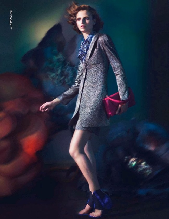 CAMPAIGN Karlina Caune for Giorgio Armani Spring 2014 by Mert & Marcus. www.imageamplified.com, Image Amplified (1)