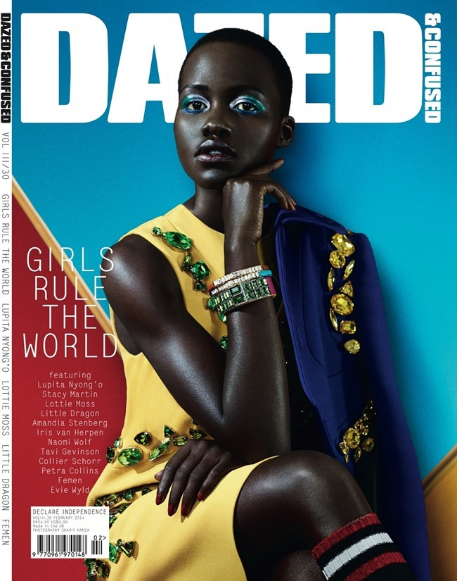 DAZED & CONFUSED MAGAZINE Lupita Nyong'o in Free Spirit by Sharif Hamza. Robbie Spencer, February 2014, www.imageamplified.com, Image Amplified (1)