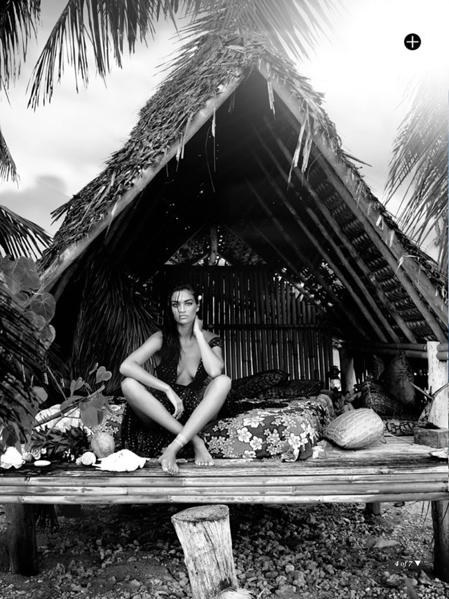 MARIE CLAIRE AUSTRALIA Shanina Shaik in Island Time by David Gubert. Valeryi Yong, February 2014, www.imageamplified.com, Image Amplified (3)