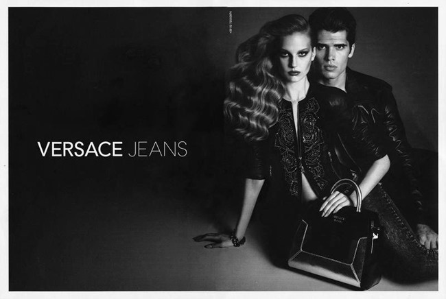 PREVIEW Brian Shimansky & Elisabeth Erm for Versace Jeans Spring 2014 by Luigi & Daniele   Iango. Patti Wilson, www.imageamplified.com, Image amplified