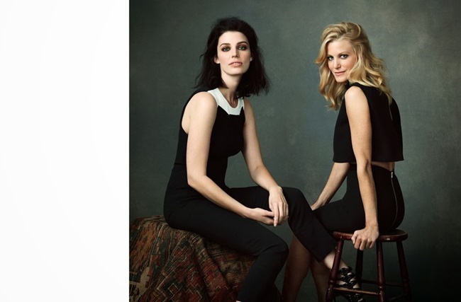 THE EDIT MAGAZINE Jessica Pare, Lena Headey, Morena Baccarin & Anna Gunn in Drama Queens by Bjorn Looss. Tracy Taylor, January 2014, www.imageamplified.com, Image Amplified (2)