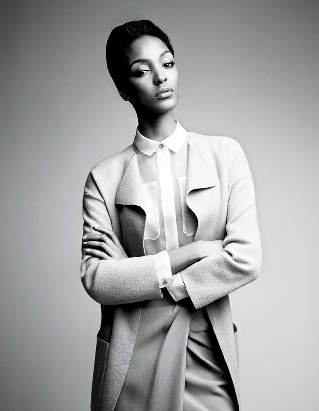 W MAGAZINE Jourdan Dunn & Joan Smalls in Spare Me by Patrick Demarchelier. Patrick Mackie, February 2014, www.imageamplified.com, Image amplified (3)